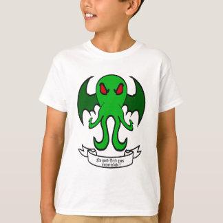 Cthulhu - ningún buen hecho va impune camiseta