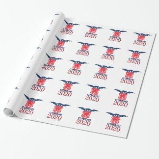 Cthulhu para el presidente 2020 papel de regalo