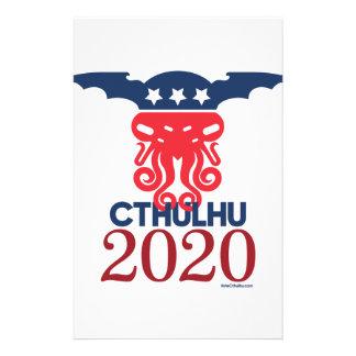 Cthulhu para el presidente 2020 papelería