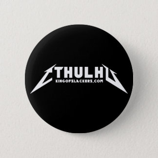 Cthullica - estándar, botón redondo de la pulgada