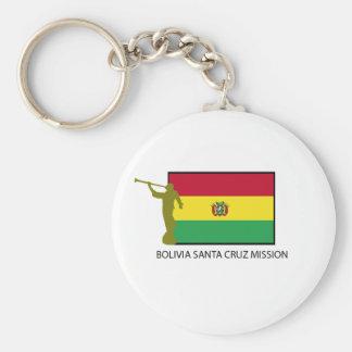 CTR de la misión LDS de Bolivia Santa Cruz Llavero Redondo Tipo Chapa