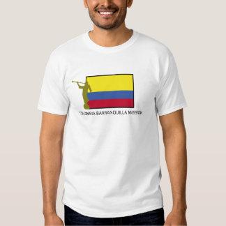 CTR de la misión LDS de Colombia Barranquilla Camisetas