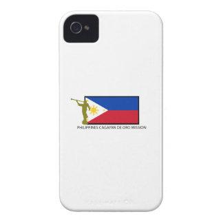 CTR DE LA MISIÓN LDS DE FILIPINAS CAGAYAN DE ORO iPhone 4 Case-Mate PROTECTORES