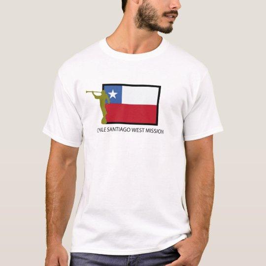 CTR del oeste de la misión LDS de Chile Santiago Camiseta
