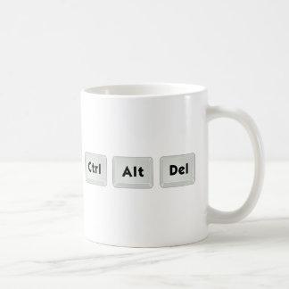 Ctrl Alt Del Taza De Café