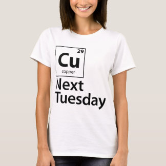 CU el próximo martes Camiseta