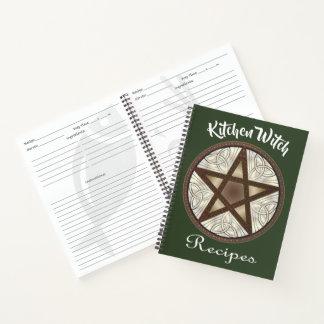 Cuaderno 1 de la receta del Pentagram de la bruja