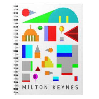 Cuaderno 2016 del diseñador de Milton Keynes