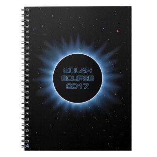 Cuaderno 2017 del eclipse solar