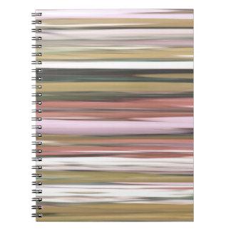 Cuaderno #2 abstracto: Falta de definición de los colores