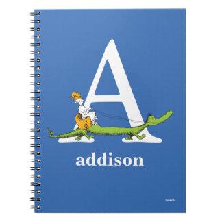 Cuaderno ABC del Dr. Seuss: Letra A - El blanco el   añade