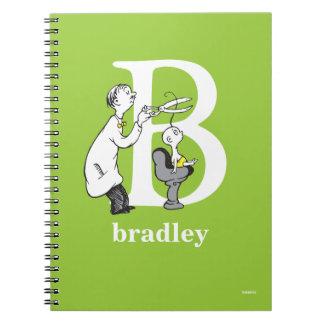 Cuaderno ABC del Dr. Seuss: Letra B - El blanco el   añade