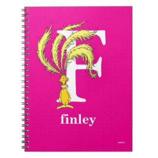 Cuaderno ABC del Dr. Seuss: Letra F - El blanco el   añade
