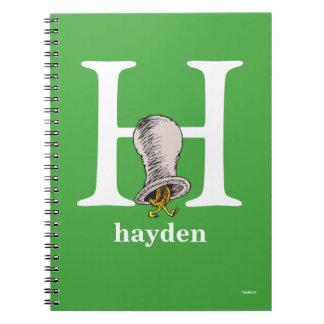 Cuaderno ABC del Dr. Seuss: Letra H - El blanco el   añade