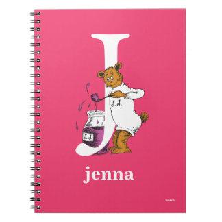 Cuaderno ABC del Dr. Seuss: Letra J - El blanco el   añade