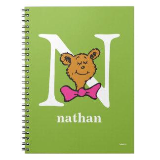 Cuaderno ABC del Dr. Seuss: Letra N - El blanco el | añade