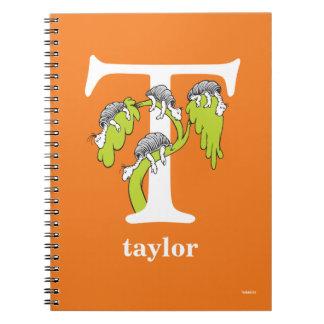 Cuaderno ABC del Dr. Seuss: Letra T - El blanco el   añade