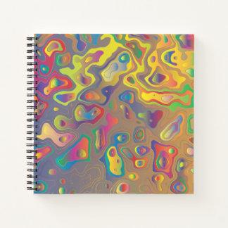 Cuaderno Aceites psicodélicos