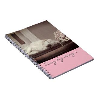 Cuaderno adorable del perrito