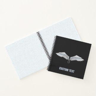 Cuaderno alas Azul-grises