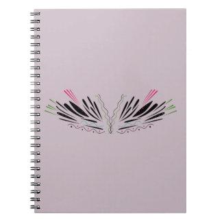 Cuaderno Alas pintadas ángel