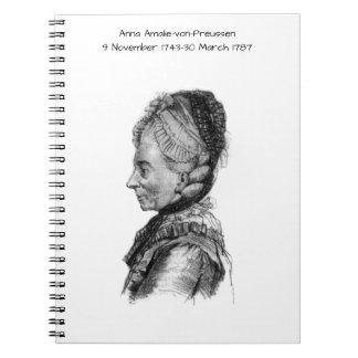 Cuaderno Amalie von Preussen de Ana