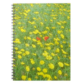 Cuaderno Amapolas de la acuarela