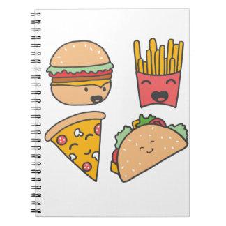 Cuaderno amigos de los alimentos de preparación rápida