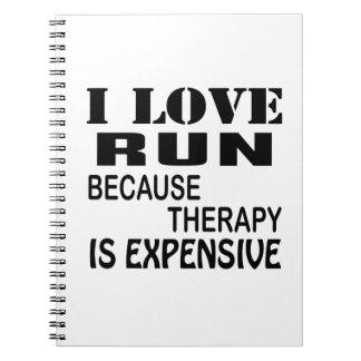 Cuaderno Amo funcionamiento porque la terapia es costosa
