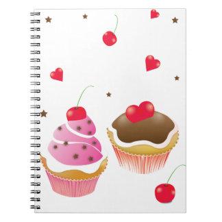 """cuaderno """"Amor de cupcakes """""""