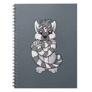 Cuaderno ¡Amor del Lemur!