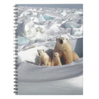 Cuaderno Añada el LEMA para ahorrar el hielo ártico del
