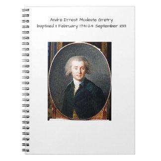 Cuaderno André Ernesto Modeste Gretry