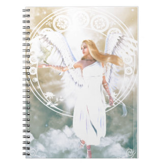 Cuaderno Ángel de la luz