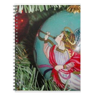 Cuaderno Ángel del navidad - arte del navidad -