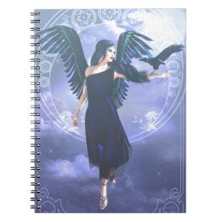 Cuaderno Ángel oscuro