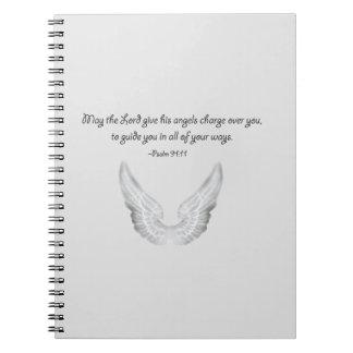Cuaderno ángeles de guarda