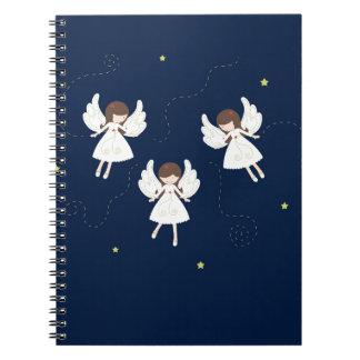 Cuaderno Ángeles del navidad