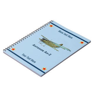 Cuaderno Antonov AN-2