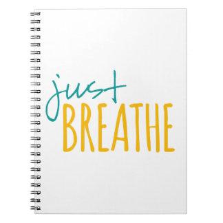 Cuaderno Apenas respire