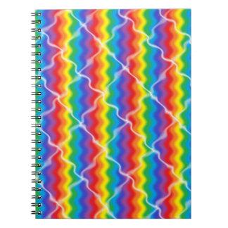 Cuaderno Arco iris agrietado