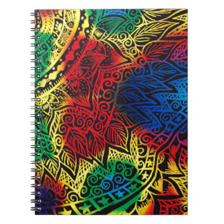 Cuaderno Arco iris de Pawprint