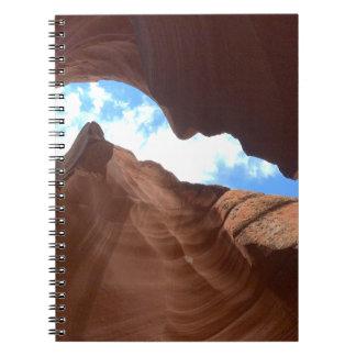 Cuaderno ARIZONA - barranco superior B del antílope - roca