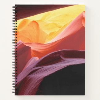 Cuaderno Arizona, formaciones de la piedra arenisca del