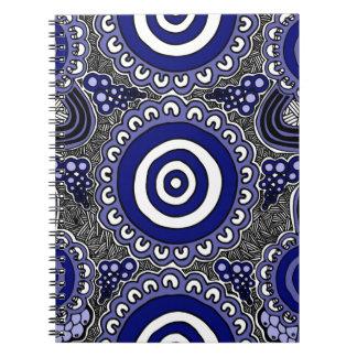 Cuaderno Arte aborigen auténtico - recolectando