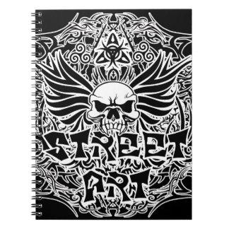 Cuaderno Arte tribal de la calle del tatuaje