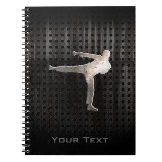 Cuaderno Artes marciales frescos