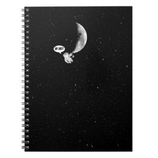 Cuaderno Astronauta divertido y la luna
