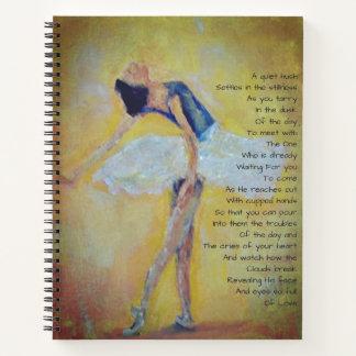 Cuaderno Bailarín y poesía inspirada