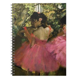 Cuaderno Bailarinas en rosa de Edgar Degas
